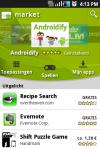 Screenshot Android Market